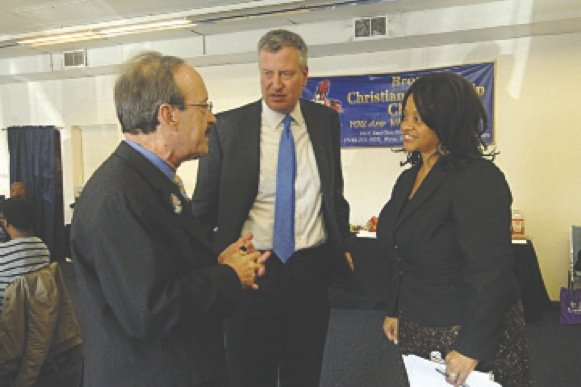 NYC clergy gather during Sandy aftermath