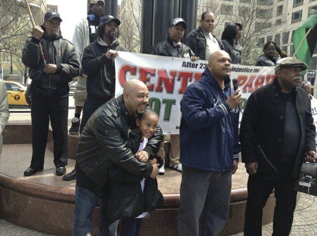 Community rallies for reparations for the Central Park Five