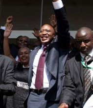 Pres. Kenyatta's victory speech penned by Duke University student