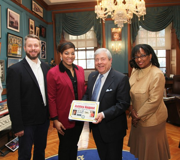 BP Markowitz welcomes new Youth Poet Laureate Ashley August