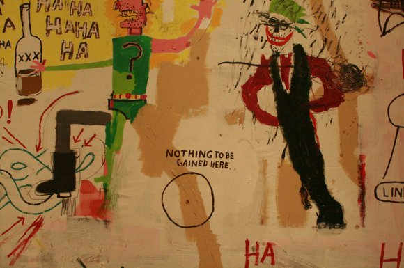 Jean-Michel Basquiat, who arose from the world of graffiti to become an internationally acclaimed artist,...