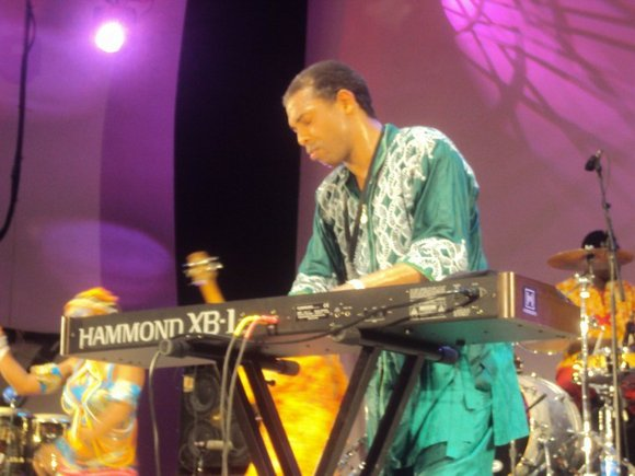 2011 was a good year for the international Afrobeat superstar Femi Kuti-a very good year....