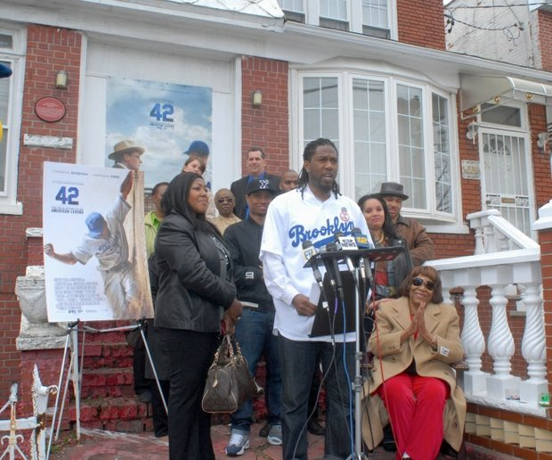 Push to landmark Jackie Robinson's house begins