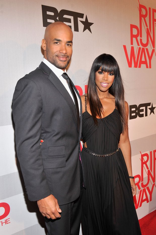 NEW YORK, NY - FEBRUARY 27:  Hosts Boris Kodjoe and Kelly Rowland attend BET's Rip The Runway 2013:Red Carpet at Hammerstein Ballroom on February 27, 2013 in New York City.  (Photo by Stephen Lovekin/Getty Images for BET's Rip The Runway)