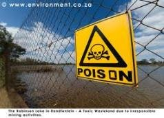 Toxic sea of gold-mine chemicals rising beneath Johannesburg
