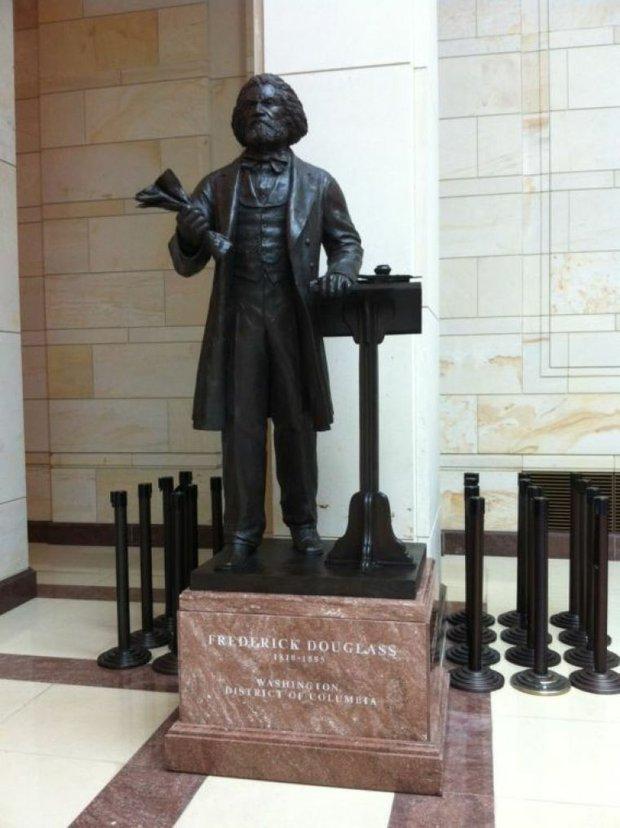 Fredrick Douglass Statue Unveiled