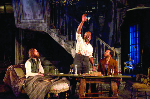 """The Whipping Man"" is a dramatic, compelling piece of theater and will grip you from..."