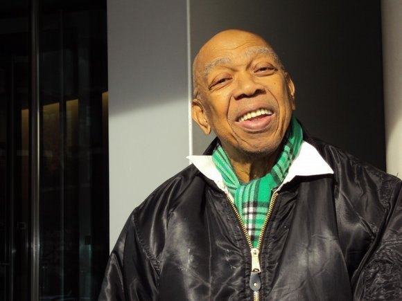 Geoffrey Holder was in his element. Well, actually one of them, since he is one...