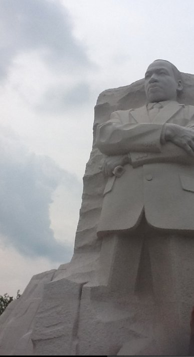 Campers visit Dr. Martin Luther King monument in D.C.
