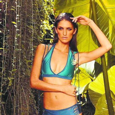 Exotic summer swimsuits and sportswear