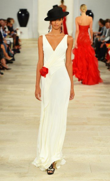 Ralph Lauren: Shapely styles--and the hat is back!