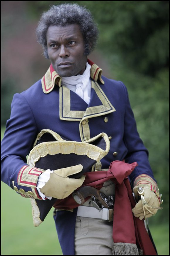"Jimmy Jean-Louis, star of the triumphant film ""Toussaint Louverture,"" brilliantly directed by Philippe Niang, captivated..."