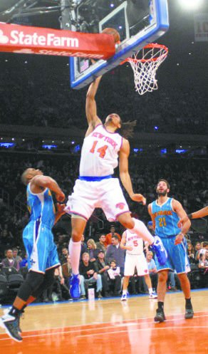 Who among you could have possibly fathomed that in late March, the Knicks would be...