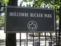 Shooting at Rucker Park during a Basketball Tournament