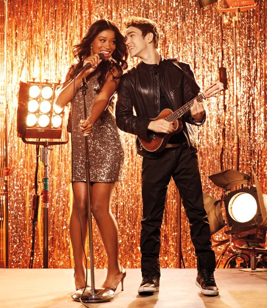 Keke Palmer and Max Schneider star in 'Rags,' a Nickelodeon original TV movie