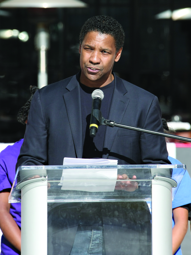 Denzel Washington returns to his roots