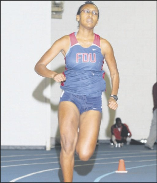 Fairleigh Dickinson University middle-distance runner Keyana Hynds ran her first race at the tender age...