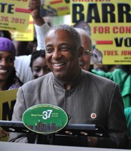 DC37 endorses Barron, others for Congress