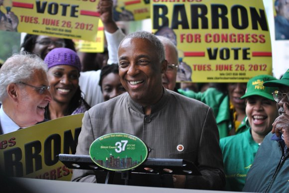 "In a move that Charles Barron called ""huge,"" DC37 endorsed the New York City councilman..."