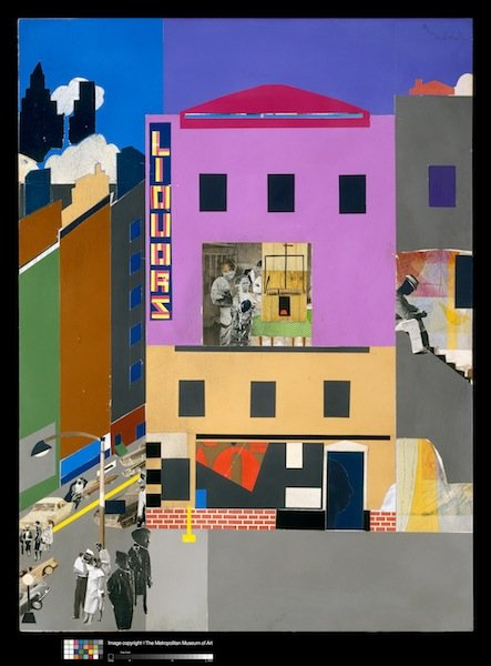 Tribute to artist Romare Bearden at the Met