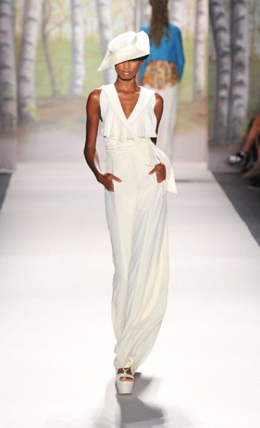 Tracy Reese's fashions are perfect for a Sunday afternoon. At her Mercedes-Benz Fashion Week presentation...