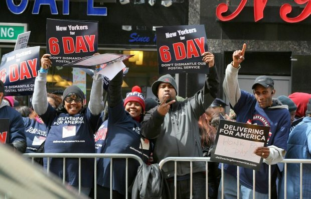 USPS workers reject five-day plan