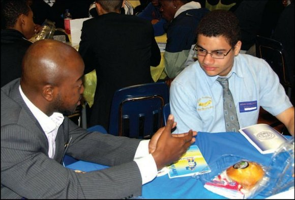 Hundreds of male high school students from across the city attended the third annual Male...