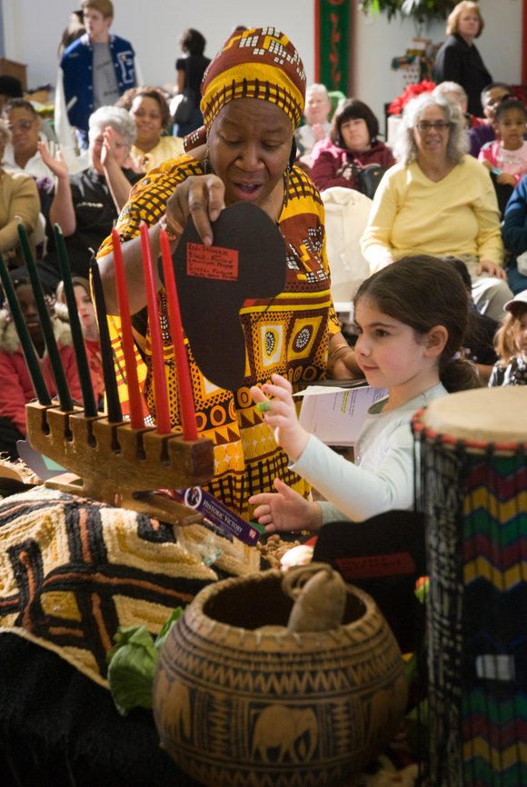 Monday, Dec. 26 marks the first day of Kwanzaa, a nonreligious celebration of African culture....