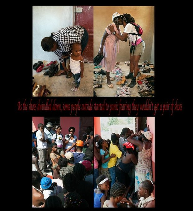 Please help with shoes for Haiti