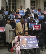 The Reverend Conrad Tillard seeks City Council Seat