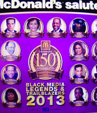 McDonald's unveils Black media legends poster