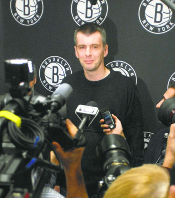 "During a radio interview on Monday, Nets owner Mikhail Prokhorov said his team needs ""one..."