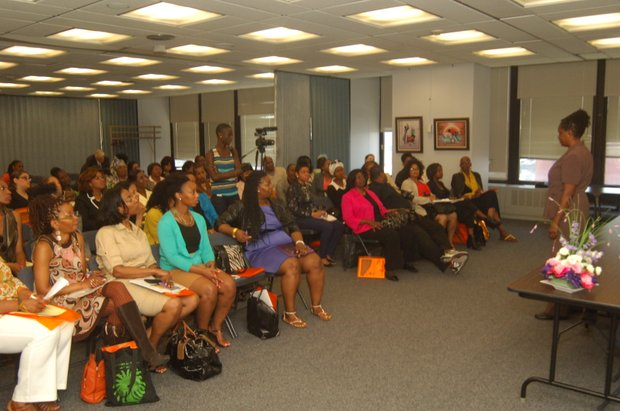 "15th Annual 'Who's the Boss' Women Business Conference themes ""Moving Forward"""
