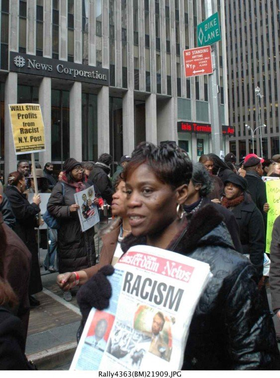 Nayaba Arinde and Bill Moore Here are some pictures as hundreds of New Yorkers braved...
