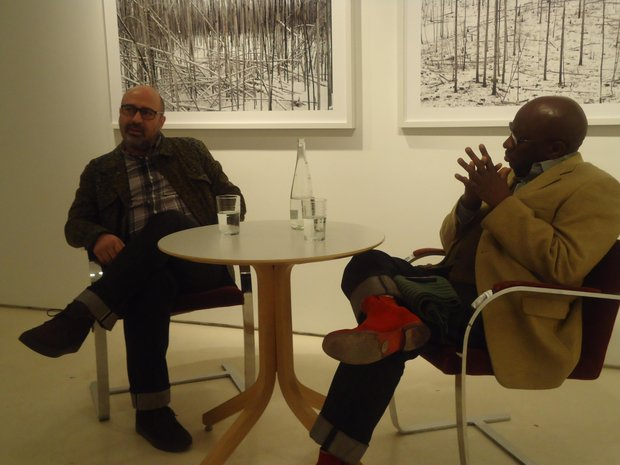 Henry Leutwyler (left) and Hollis King (Stephon Johnson photo)