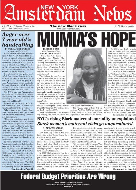 Sunday was Mumia Abu-Jamal's 57th birthday, and on Tuesday, supporters were ecstatic upon learning that...