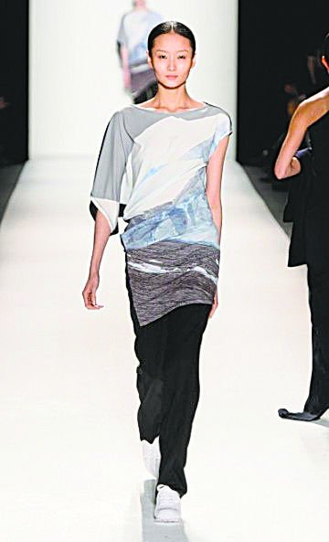 For fall, some fashions offer an East-to-West style. Korean designer Choonmoo Park created conservative yet...