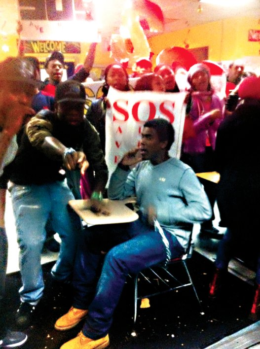 Last Wednesday, students at Brownsville Academy High School organized a sit-in to oppose the Department...