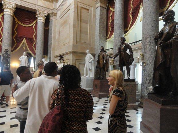 Washington:  A city of history, monuments and memorials