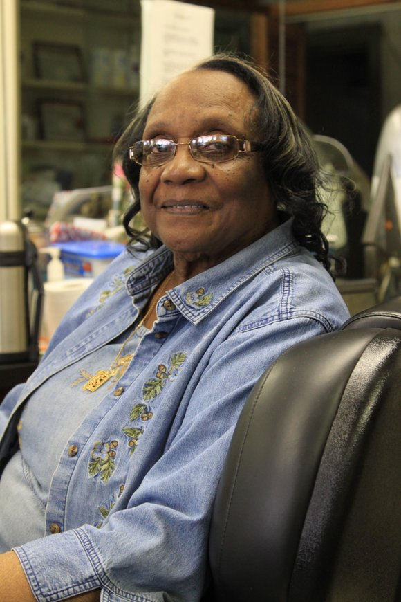 Allean Elam, 88, owner of one of the oldest barbershops in Harlem, is still going...