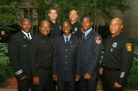The Links Inc. Big Apple Cluster held a reception to honor the African-American firefighters of...