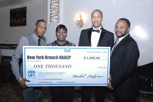 NY NAACP celebrates the holidays