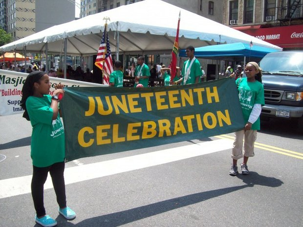 Juneteenth celebrations held across the city