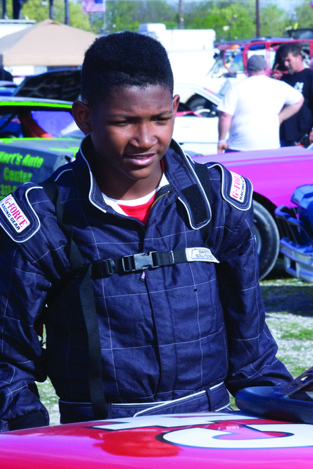 Walter Thomas III speeding into NASCAR Diversity Program