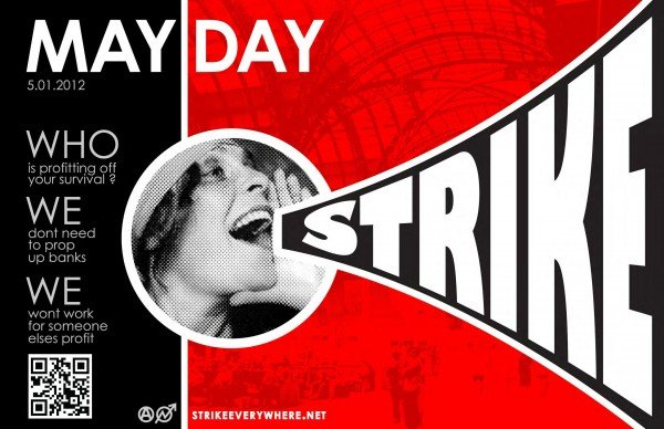Unions and Occupy Wall Street call general strike for May 1
