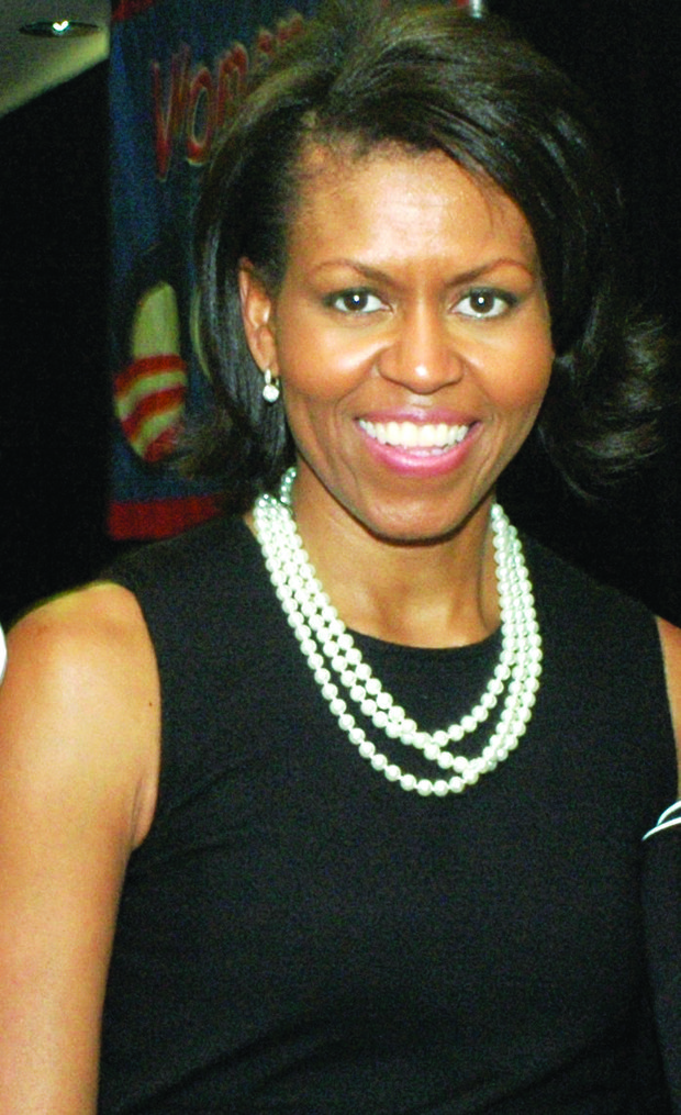 What happened when a police officer threatened Michelle Obama