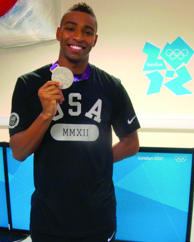 Cullen Jones, gold medal swim champ, is breaking barriers