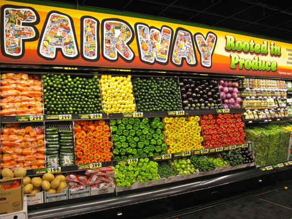 If the other seven locations-including our perfect Harlem location-were not enough, Fairway Market has opened...