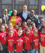 Earth day celebrated in Newark