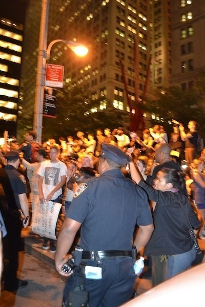 "Troy Davis Protestors take to the Streets: ""This is what Democracy Looks like"""